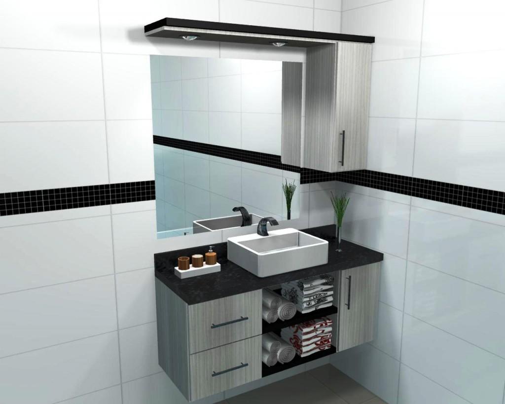 Banheiro planejado 47