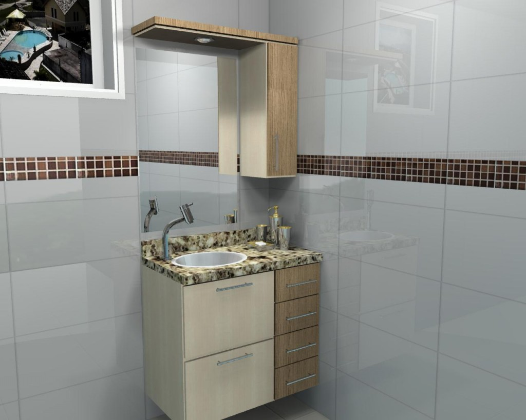 Banheiro planejado 48