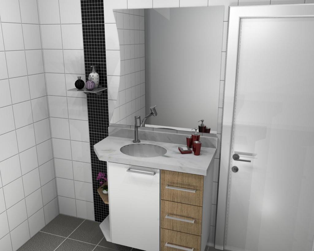 Banheiro planejado 49