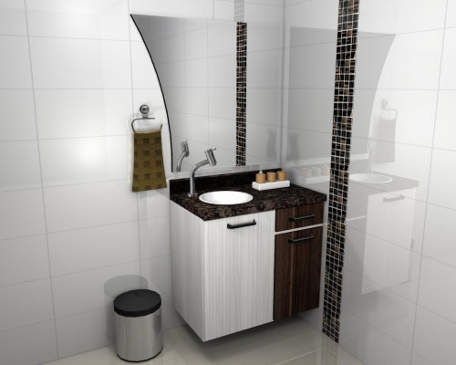 Banheiro planejado 51