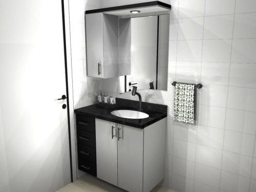 Banheiro planejado 55