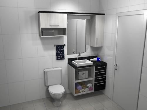 Banheiro planejado 56