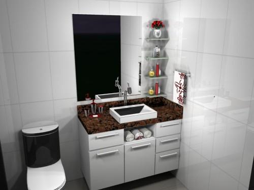 Banheiro planejado 57
