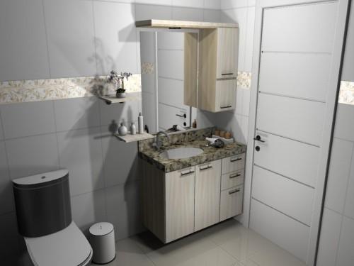 Banheiro planejado 58