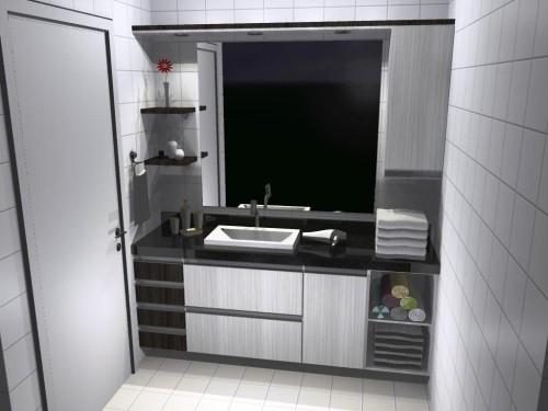 Banheiro planejado 60