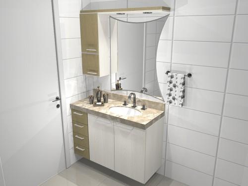 Banheiro planejado 63