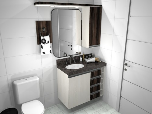 Banheiro planejado 64