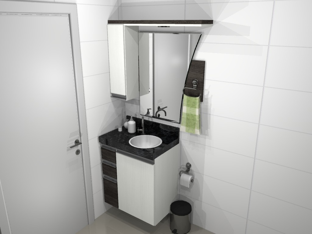 Banheiro planejado 66