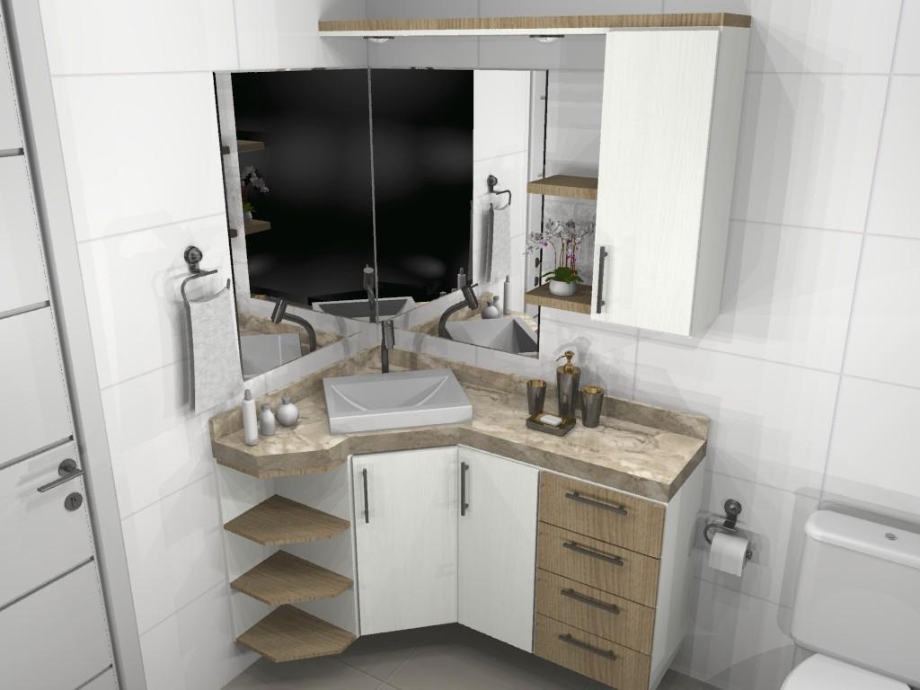Banheiro planejado 67