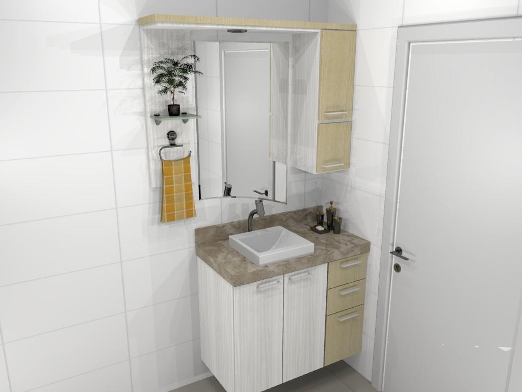 Banheiro planejado 68