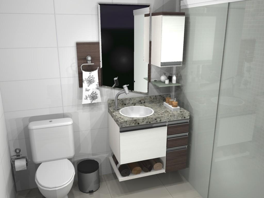 Banheiro planejado 69