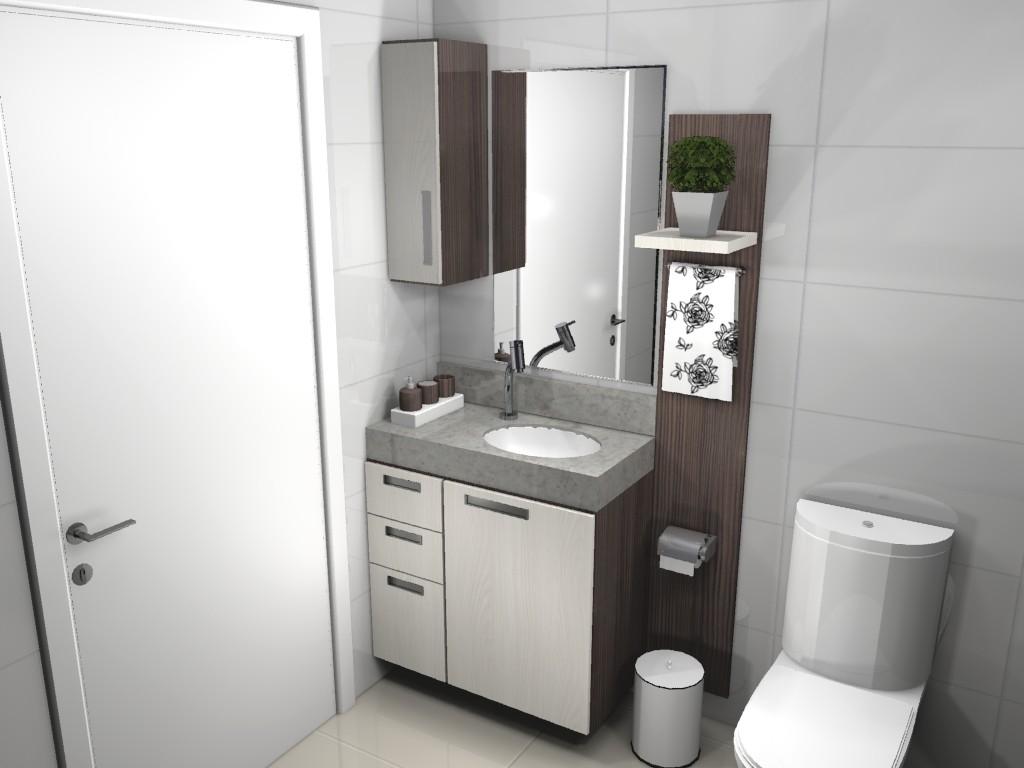 Banheiro planejado 73