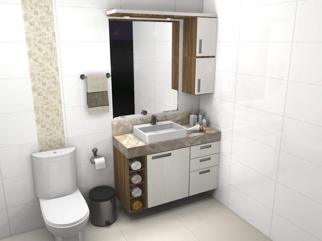 Banheiro planejado 74