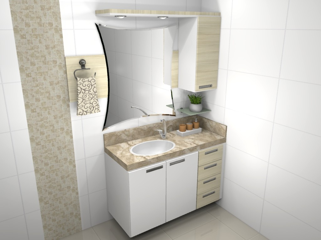 Banheiro planejado 77