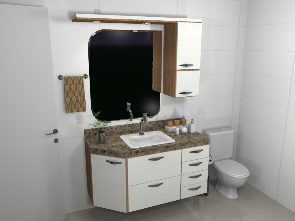 Banheiro planejado 78