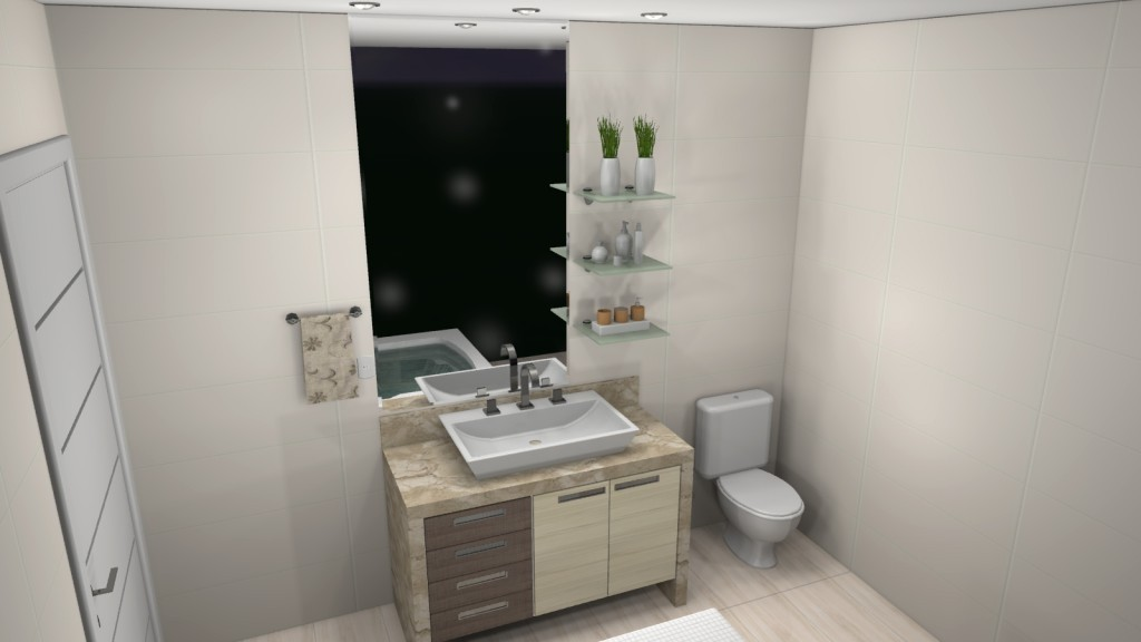 Banheiro planejado 83