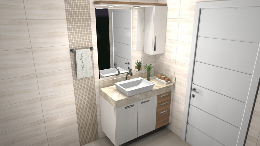 Banheiro planejado 85