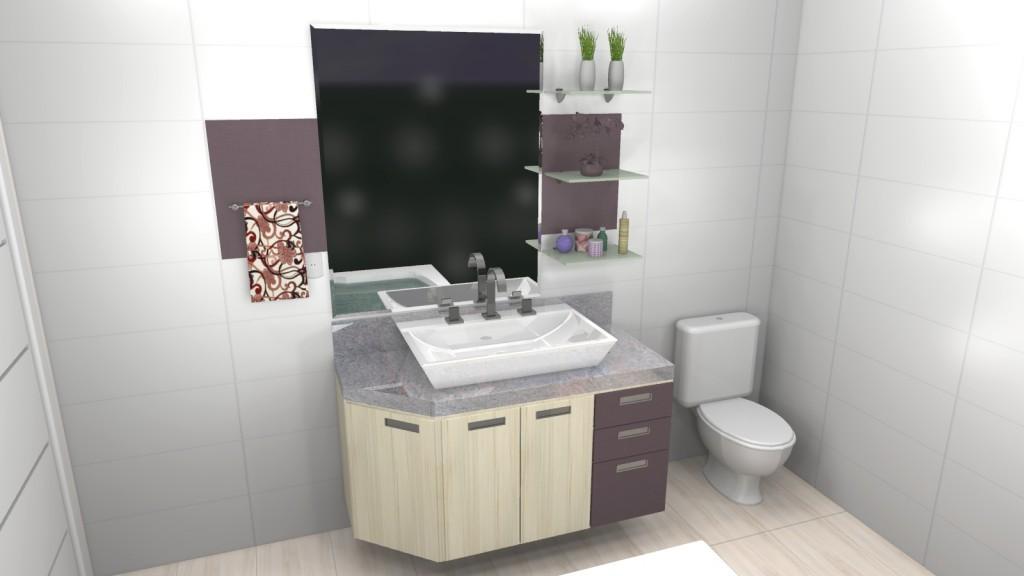 Banheiro planejado 87