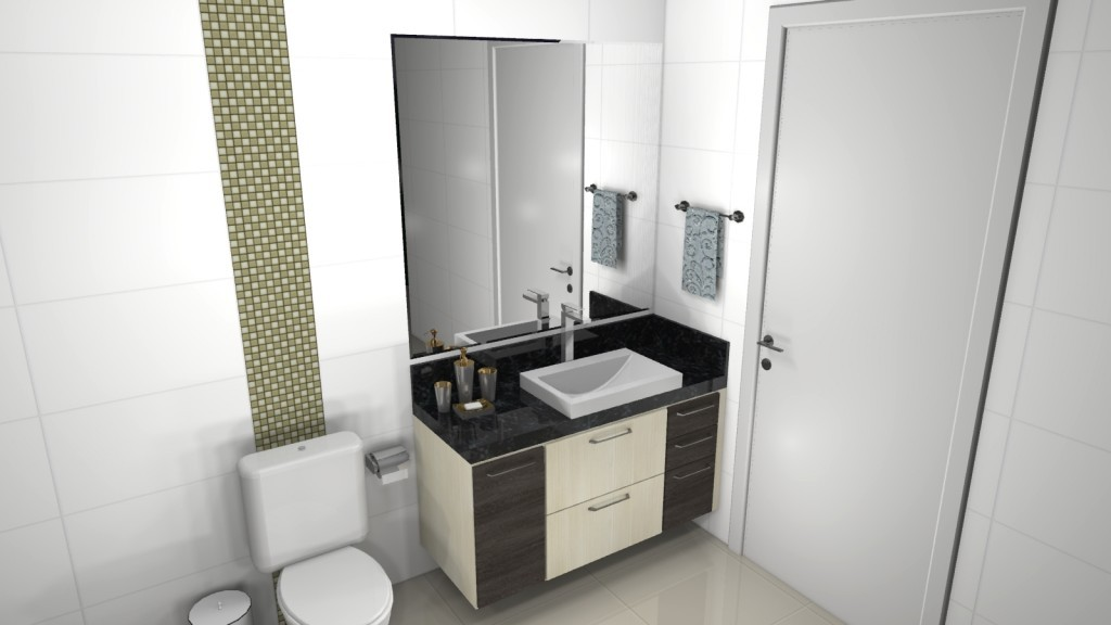 Banheiro planejado 90