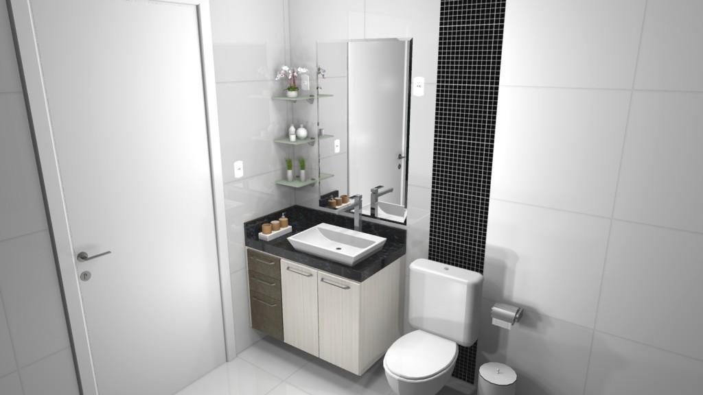 Banheiro planejado 91
