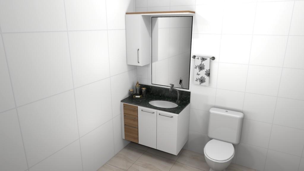 Banheiro planejado 93