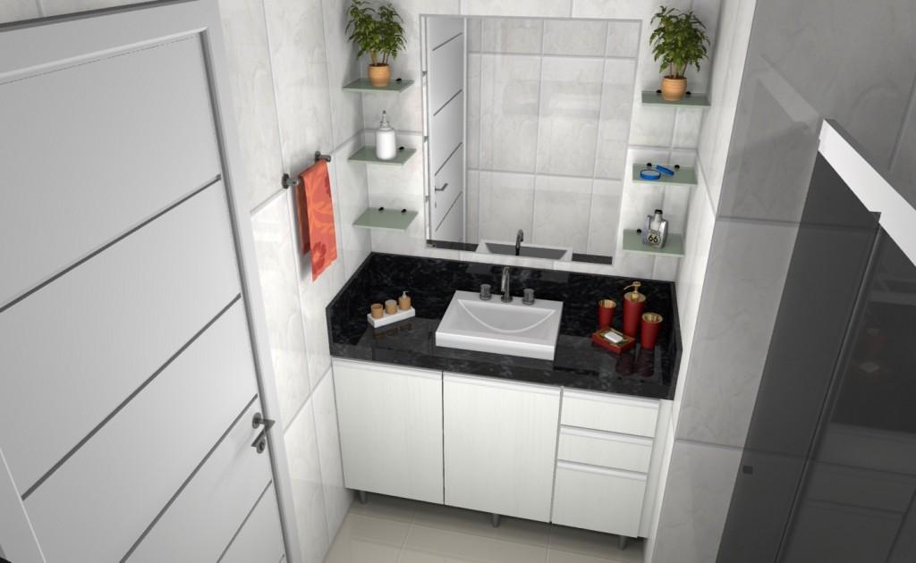 Banheiro planejado 99