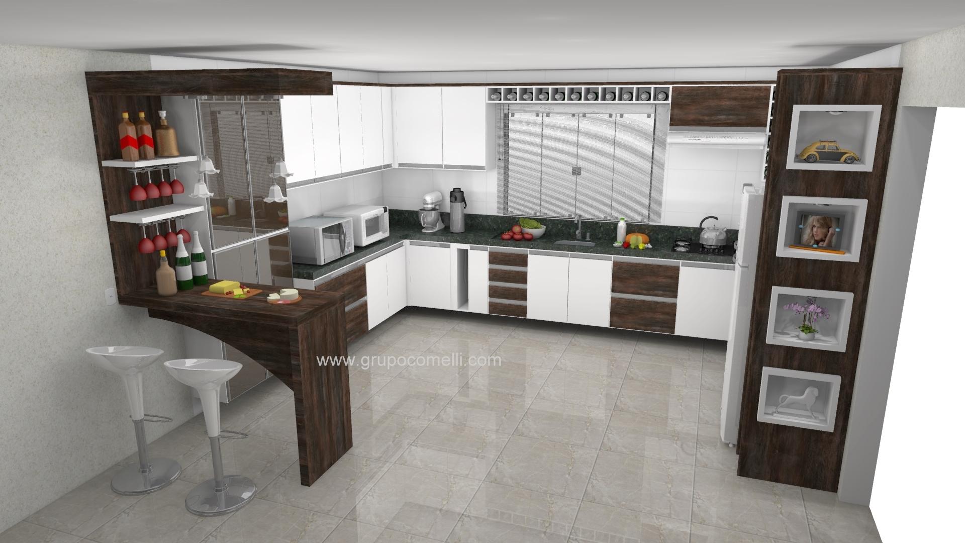 Cozinha planejada 523 #957836 1920 1080