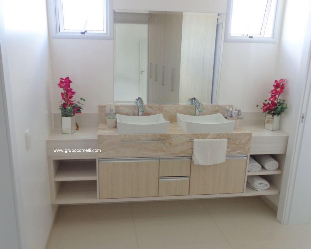 Projeto 215 – Banheiro planejado » Apreciare, móveis planejados -> Banheiros Planejados Com Granito