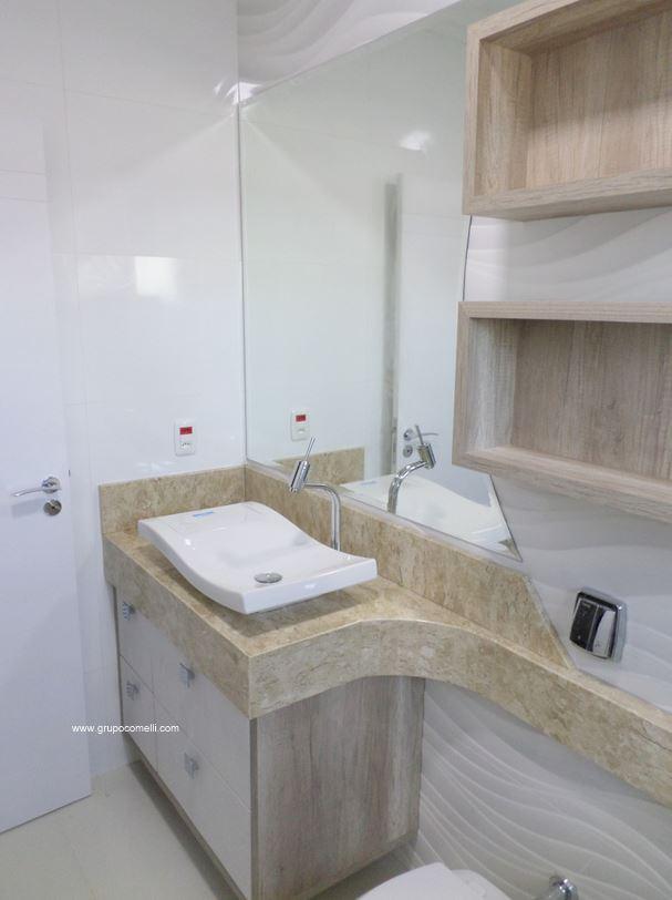 Apreciare, móveis planejados » wwwgrupocomellicomapreciare -> Banheiro Feminino Planejado
