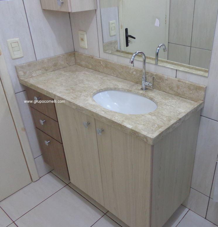 Trabalhos concluídos » Apreciare, móveis planejados -> Projeto Banheiro Planejado