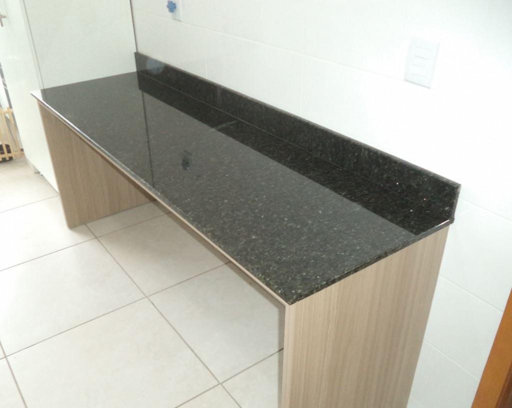 #9B6430 Trabalhos concluídos 01 » Triunfo mármores e granitos 1024x817 px Balcão De Mármore Cozinha Americana #1097 imagens