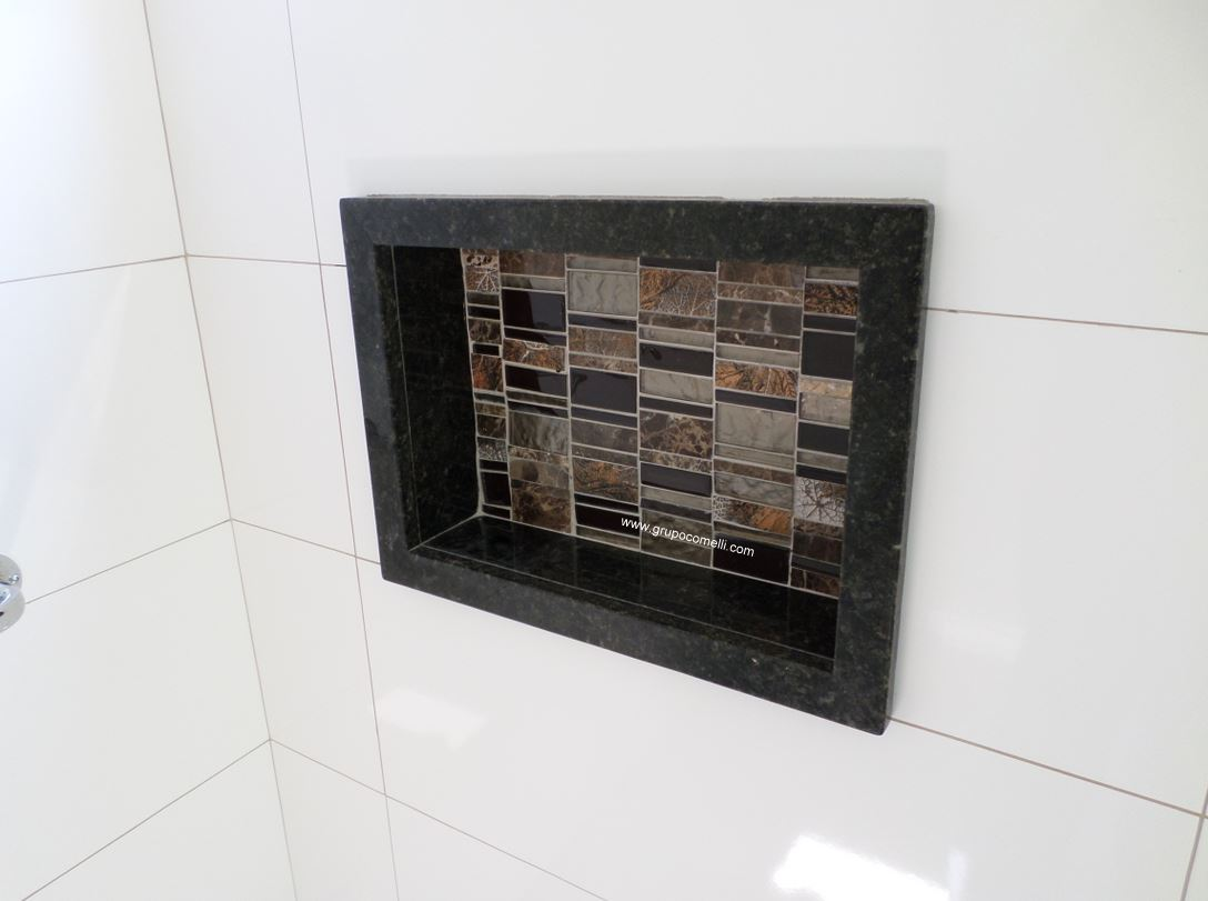 Triunfo, mármores e granitos » wwwgrupocomellicomtriunfo -> Nicho De Banheiro Em Granito