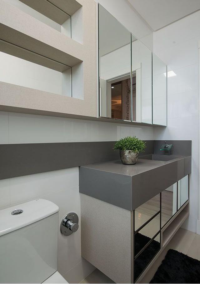 Triunfo, mármores e granitos » wwwgrupocomellicomtriunfo -> Banheiro Pequeno Cinza